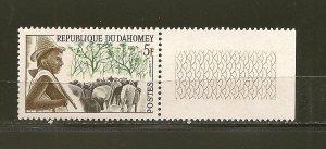 Dahomey 162 Herdsman With Tab MNH
