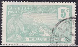 Guadeloupe 57 USED 1905 Harbor at Basse-Terre