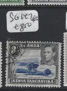 KENYA, UGANDA AND TANGANYIKA   (P0205B) KGVI  3/-  SG 147  VFU