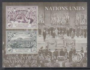 UN Geneva 272 Souvenir Sheet MNH VF