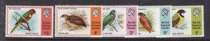 BRITISH SOLOMON ISLANDS ^^^^1975  sc# 280-284  MNH set ( BIRDS) $$ @ ha160solo