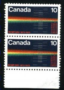 Can #613   pair  u   VF 1973 PD