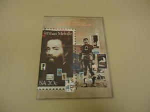 USPS 1984 Mint Set Of Commemorative Stamps Folder Vietnam...