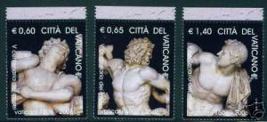 VATICAN Scott 13xx-? MNH** 2006 Museum Singles