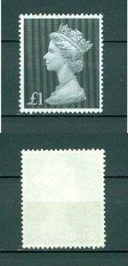 Great Britain.  1970 Queen Elizabeth II. 1 Pound MNH.