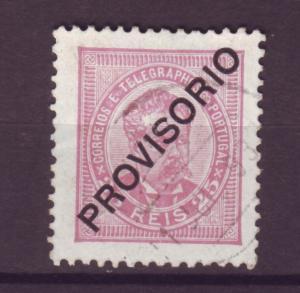J15259 JLstamps 1892-3 portugal used #84 king ovpt