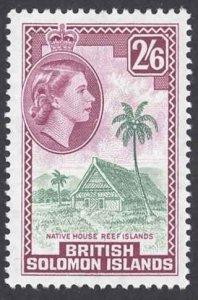 Solomon Islands Sc# 125 MH 1965 2sh6p QEII Definitives