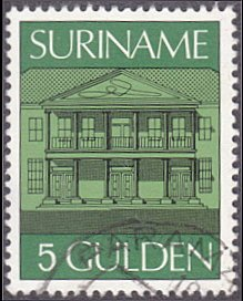 Surinam # r39 used ~ 5g Central Bank