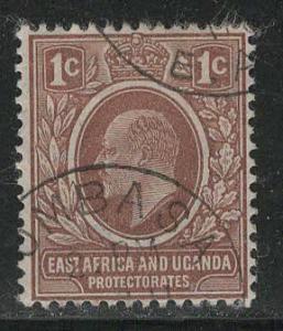 East Africa and Uganda Scott # 31, used