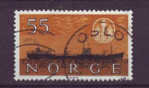 J18358 JLstamps 1960 norway used #385 ship