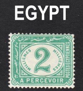 Egypt Scott J15 VF mint OG HH.