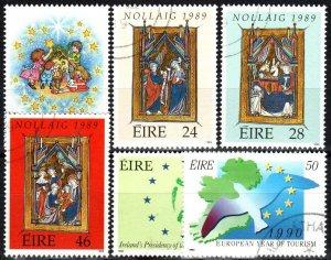 Ireland #759-64 F-VF Used CV $6.90 (X5509)
