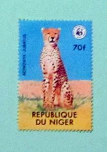 Niger - 449, MNH. Cheetah; WWF. SCV - $3.00