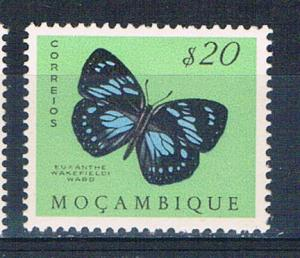 Mozambique 366 MNH Butterfly 1953 (M0316)