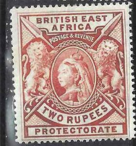 British East Africa 1898 SC 103 MLH SCV $140.00