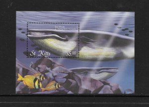 WHALES - ST KITTS #524  MNH