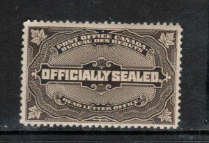 Canada #OX4 Mint Fine - Very Fine Never Hinged