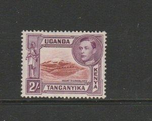KUT 1938/54 2/- P13.75 x 13.25, MM SG 146b