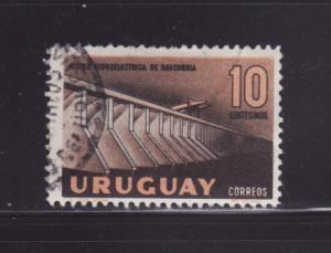 Uruguay 634 U Baygorria Hydroelectric Works