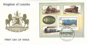 Lesotho Scott 978 Unaddressed.