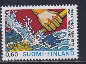 Finland # 530, Canoeing World Championships, NH, 1/2 Cat.