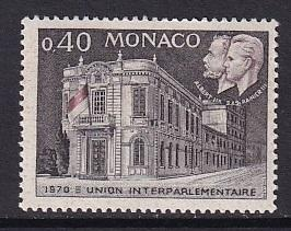 Monaco  #752   MNH  1970  interparliamentary union