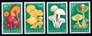 [65785] Faroe Islands 1987 Mushrooms Pilze Champignons  MNH