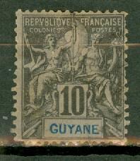 French Guiana 37 mint CV $13.50