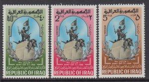 Iraq 396-398 MNH VF