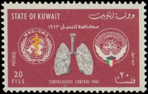 1963 Kuwait #204-207, Complete Set(4), Never Hinged