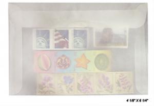 100 count - Glassine Envelopes #7 - ACID FREE - size 4 1/8 x 6 1/4 - NEW