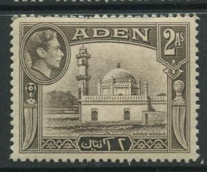 ADEN - Scott 20 - KGVI Definitive Issue - 1938 - MNH - Single 2a Stamps