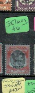 MALAYA JAPANESE OCCUPATION  PENANG (P1707B)  $1.00 DN  SG J 87    MOG