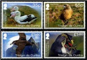 2020 Tristan Da Cunha BIrds - UNESCO (4) (Scott NA) MNH