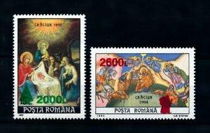 [100878] Romania 1998 Christmas with Overprint  MNH