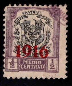 Dominican Republic Scott 209 Used coat of arms stamp