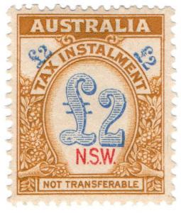 (I.B) Australia - NSW Revenue : Tax Instalment £2