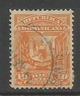 Dominican Republic 91 VFU ARMS Z4363-11