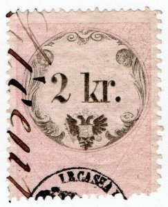 (I.B) Austria/Hungary Revenue : Stempelmarke 2kr (Lombardy-Venetia)