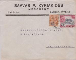 Cyprus 5m QEII Oranges and 30m QEII Kyrenia both Overprinted Republic of Cypr...