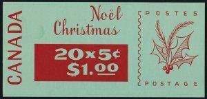 Canada 488ai BK72b Booklet MNH Christmas, Inuit Soapstone