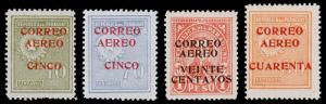 Paraguay Scott C29-C32 (1930) Mint H VF B