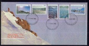 Australian Antarctic Territory L63,L67,L69,L73,L74 U/A FDC