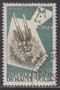 Burkina Faso 73 Deer Mask 1960