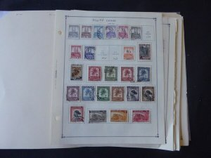 Belgium Congo 1941-1971 Stamp Collection on Alb Pgs