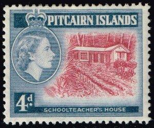 Pitcairn Islands #31 Corrected Schollteacher's House; Unused (2Stars)