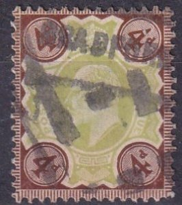 Great Britain #133  F-VF Used  CV $35.00 (Z3418)