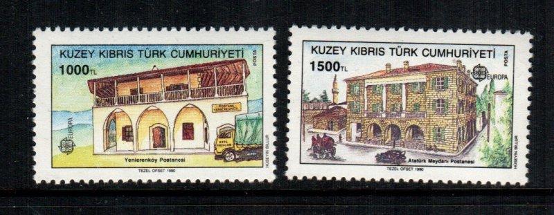 Turkey Cyprus  269 - 270  MNH cat $ 7.50