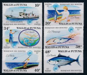 [41475] Wallis & Futuna 1979 Marine Life Fish Fishing MNH