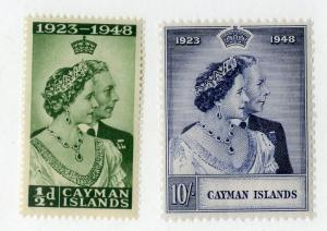 CAYMAN ISLANDS 116-7 MNH SCV $25.25 BIN $15.00